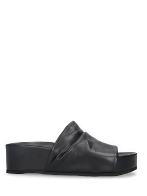 Sandalo Sabot Pelle Black