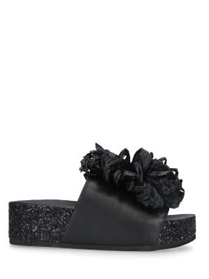 Sandalo Sabot Black Fiocco