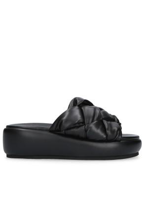 Sandalo Sabot imbottito nero