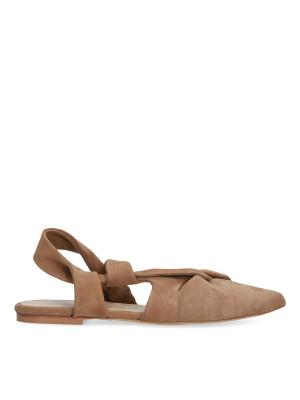 Sandalo con punta chiusa biscotto