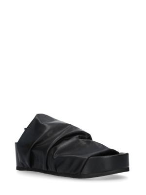 Sandalo Sabot Stretch Black
