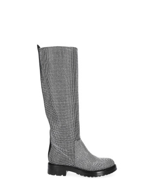 High Boots covered with micro-studs