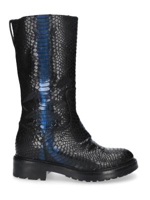 Black Boots snake stamp