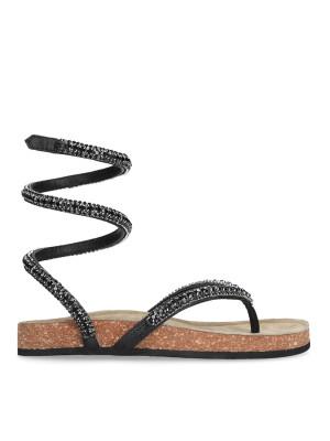 Black Flip Flop Sandal