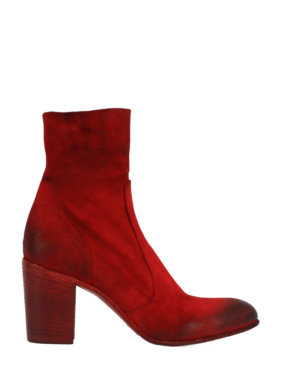 Leather Ankle Boots PE4880 80 mm Heel