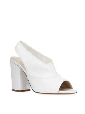 White sandal