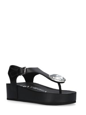 Sandalo Sabot Infradito Nero
