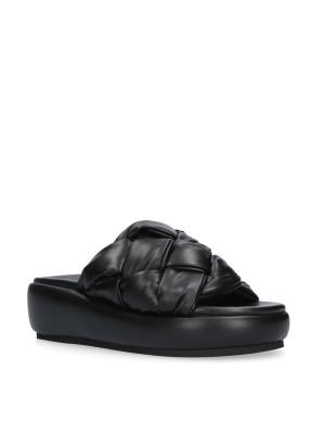Padded Sabot Black Sandal