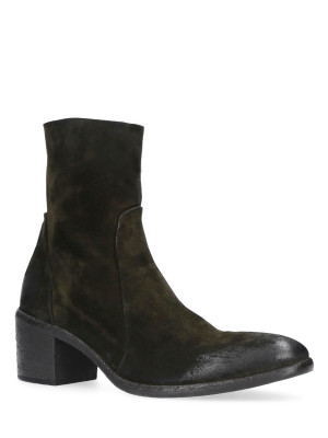 Army Suede Ankle Boot