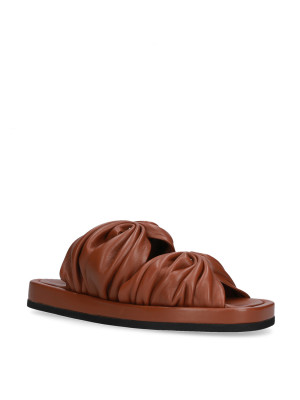Flat Leather Sandal