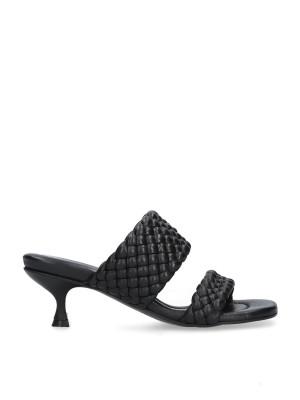Sandalo nero mules