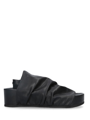 Sandalo Sabot Stretch Black