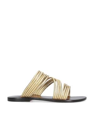 Sandalo flat oro