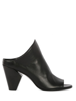 Sandales en Cuir 80mm