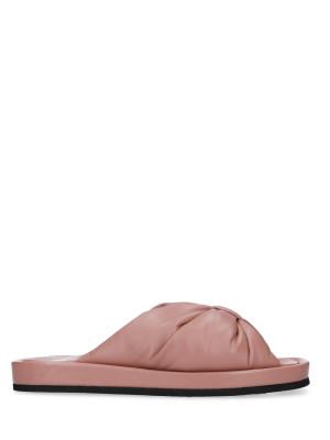 Sandalo in pelle Nude