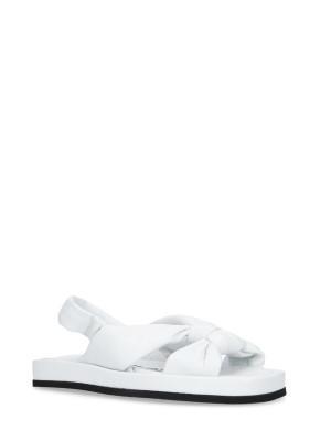 Sandalo in pelle White